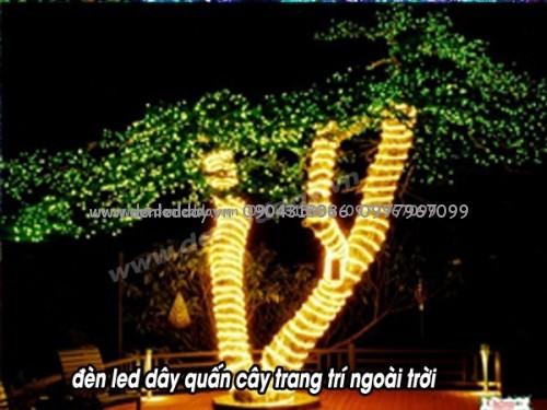 Đèn Tốt chuyên phân phối bán buôn đèn led dây cuốn cây chuyên dụng độ bền cao, màu sắc tốt.
