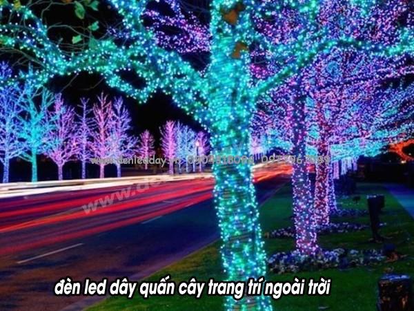 LED quấn cây chuyên dụng bán buôn tại Đèn Tốt