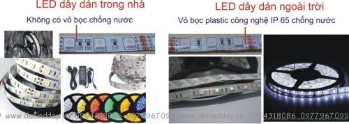 LED dây dán trong nhà -ngoài trời