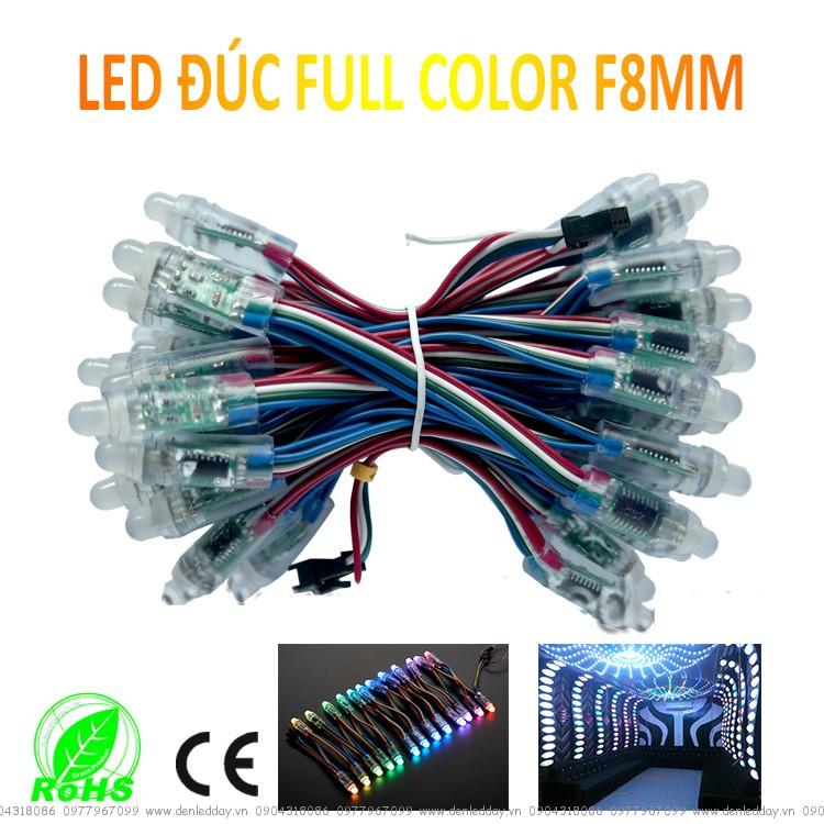 LED Đúc F8 FULL COLOR