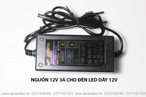 Nguồn cho đèn led dây 12V