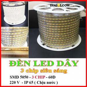 Đèn led dây siêu sáng 3 chíp SMD5050-3CHIP-60D