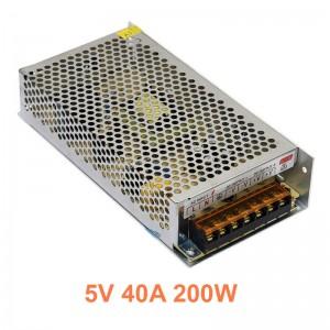 Bộ chuyển Nguồn 5V 40A 200W
