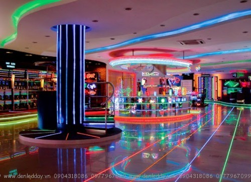 Đèn led ống Flex trang trí nội thất, trần, vách