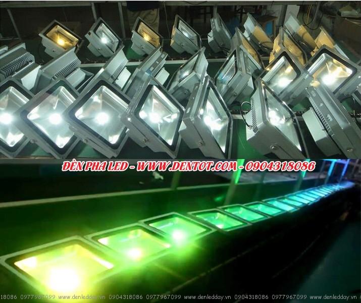 Đèn LED pha - Siêu sáng - Siêu bền - Siêu tiết kiệm điện