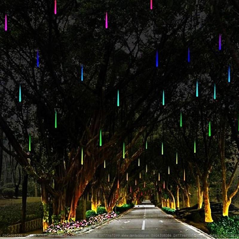 LED sao băng trang trí đường phố