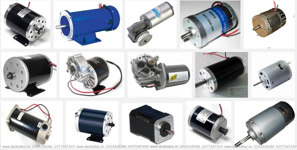 Các loại động cơ một chiều 24V