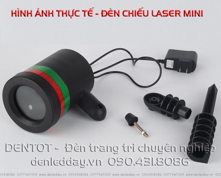 Cấu tạo các thành phần của Đèn laser mini