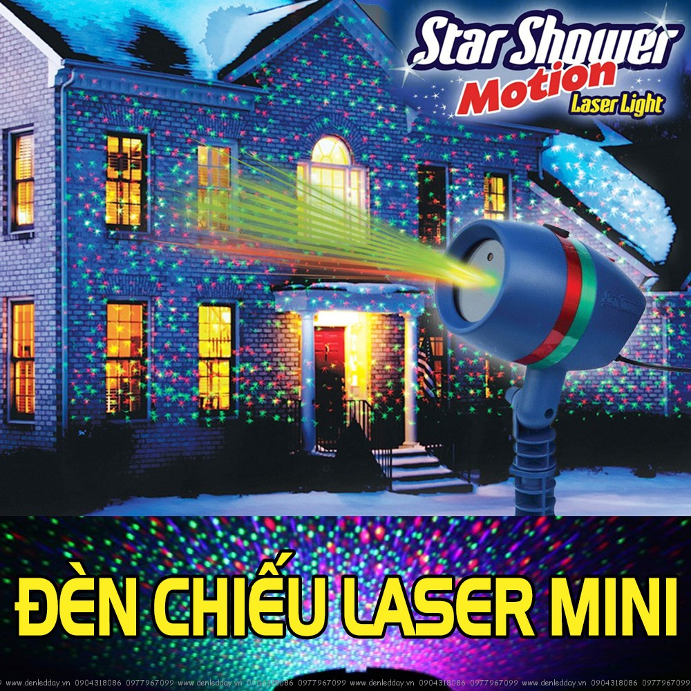 Đ 232 N Chiếu Laser Trang Tr 237 Mini Star Shower Tại Đ 200 N TỐt