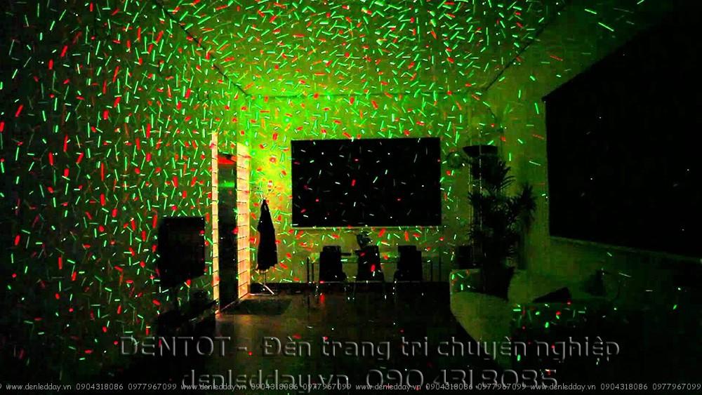 Đèn laze phòng hát trong nhà