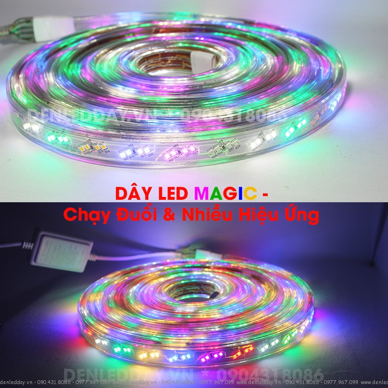 LED DÂY MAGIC CHẠY ĐUỔI