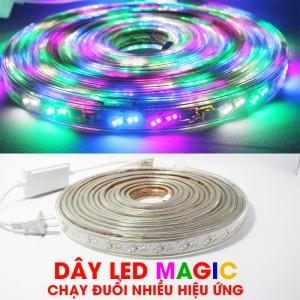Dây LED MAGIC Chạy đuổi nhiều hiệu ứng