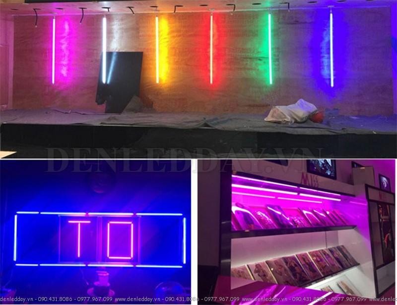 Tuýp LED màu trang trí quảng cáo