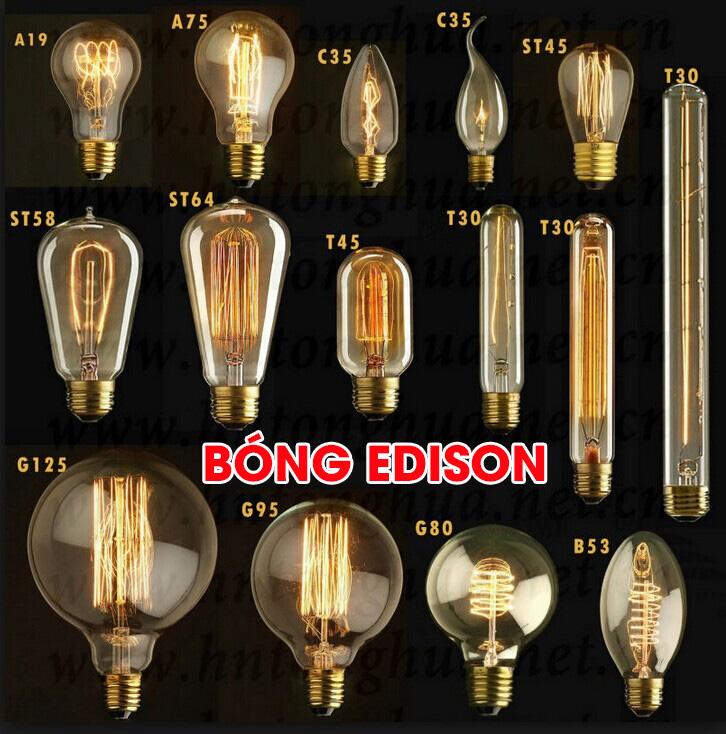 Bóng đèn trang trí Edison