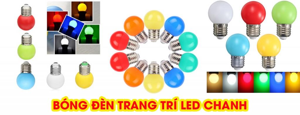 Bóng LED chanh 2W tròn kín