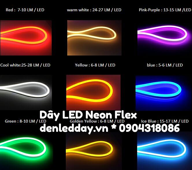 Dây đèn Neon Flex LED