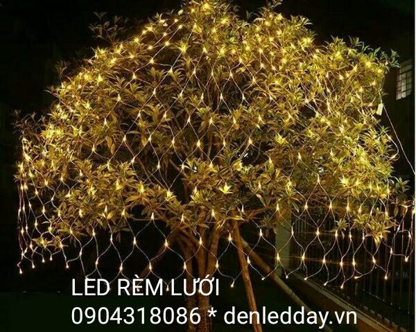 Lưới đèn LED trang trí cây, đường phố