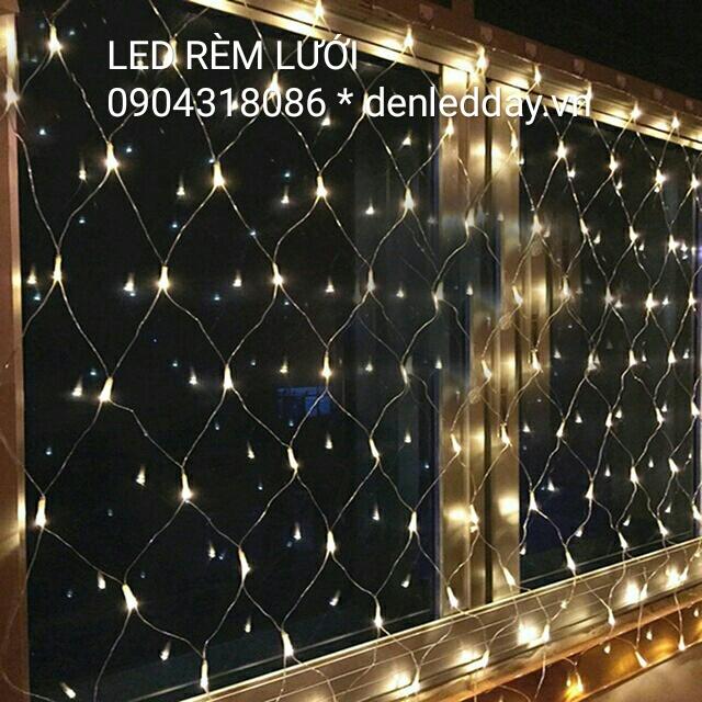 Bộ LED Lưới dài 2 mét rộng 2 mét 144 bóng LED