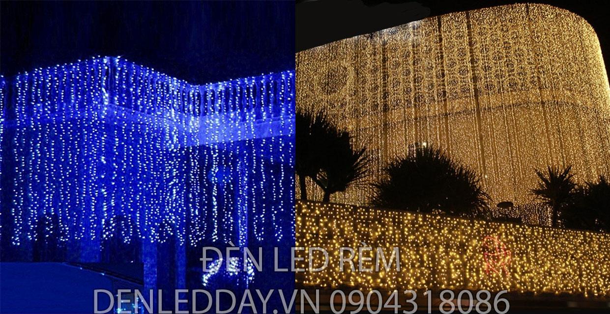 Đèn Rèm LED cao 10M, rộng tùy chọn