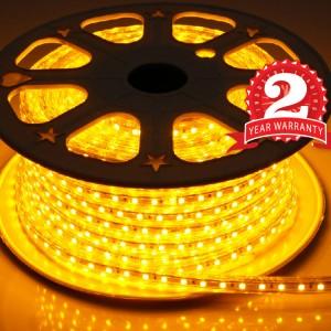 Đèn led dây 5050 220V màu vàng 100m bảo hành 2 năm
