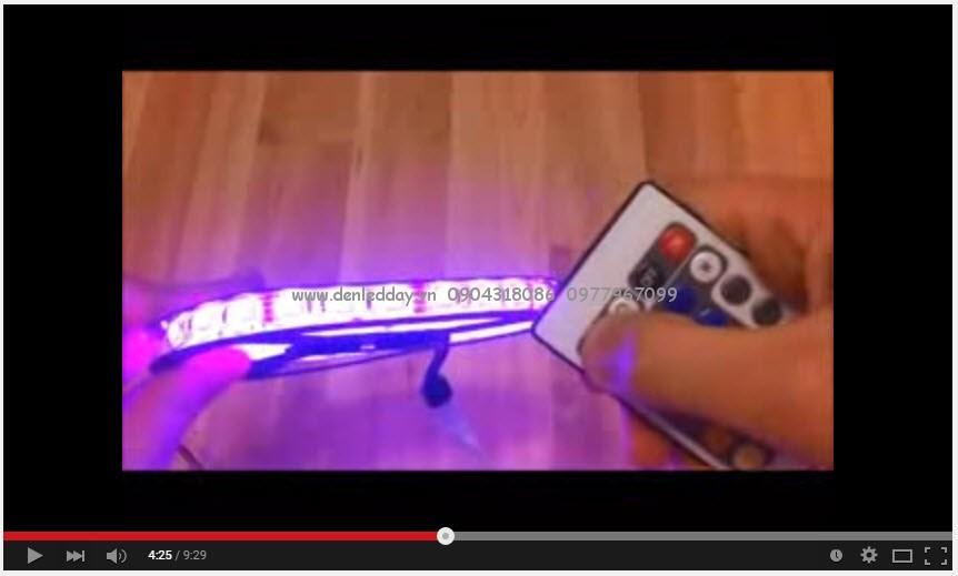 Hướng dẫn chi tiết sử dụng đèn led dây