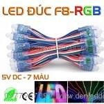 LED đúc RGB F8