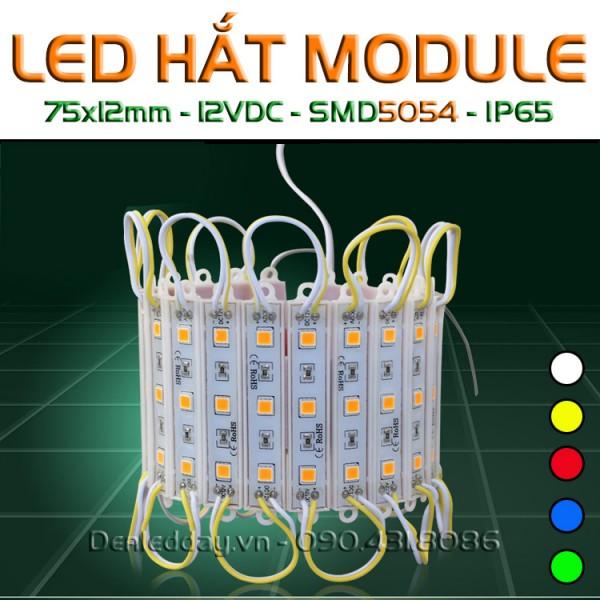 LED hắt 3 bóng 5050 kích thước 75x12mm