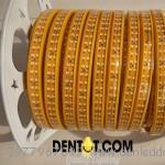 cuộn đèn ed day 2835 mạch đôi màu vàng