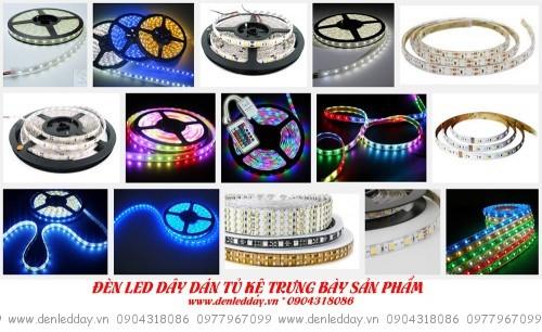 Đèn LED Dây trang trí chiếu sáng tủ kệ trưng bày sản phẩm