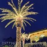 LED đúc F5 màu Vàng nắng trang tri cây rất đẹp