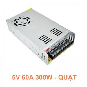 Bộ chuyển Nguồn 5V 60A 300W