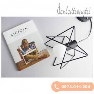 Đèn thả nghệ thuật lồng tam giác đan xen DS2869