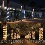 Dây LED DT2835-100D quấn cây, trang trí công viên, vườn hoa bền đẹp