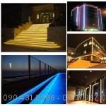 Dây LED DT2835-100D trang trí Shop, trang trí ngoài trời