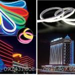 LED Neon Flex trang trí tòa nhà
