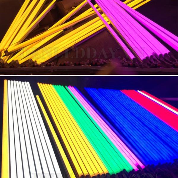 Đèn tuýp 90cm T5 LED các mầu Đỏ, Vàng, Xanh dương, Xanh lá, Trắng