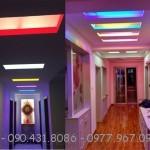 Hắt trần thạch cao hiệu quả với tuýp LED T5