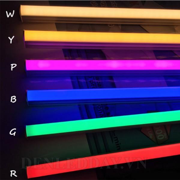 Màu sắc phong phú và rực rõ của tuýp LED T5
