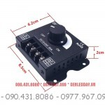 Kích thước Dimmer LED 12V 24V 30A