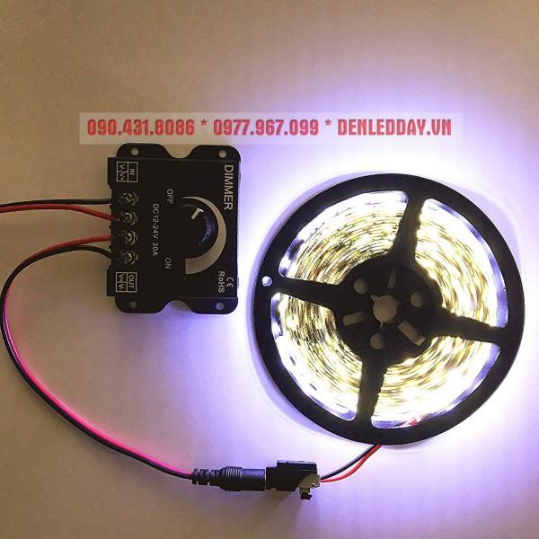 Ứng dụng Dimmer LED 12V 24V 30A