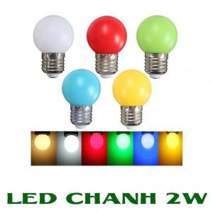 LED Chanh 2W E27 đui xoáy chống mưa