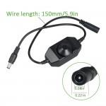 Dimmer LED 2A mini gắn sẵn giắc đực cái