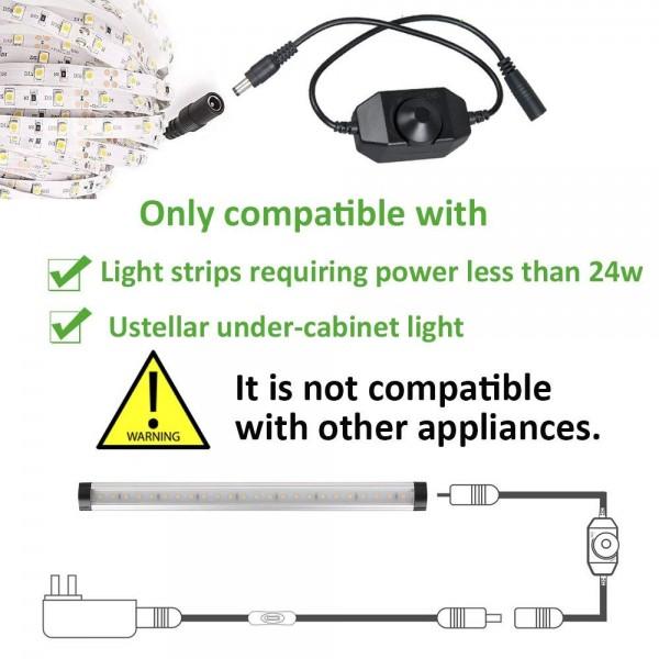 Với công suất Max 24W ( 12V) hoặc 48W ( 24V ) Dimmer mini 2A phù hợp sử dụng điều chỉnh độ sáng đèn LED 12V và 24V công suất nhỏ như LED dây dán, LED thanh, LED hắt