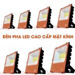 Đèn hắt tường ngoài trời - LED Pha cao cấp mặt kính FLC